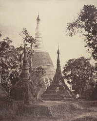 No. 115. Rangoon. Rear View of the [Shwe Dagon] Pagoda.